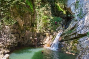 canyoning dans l'ain 2