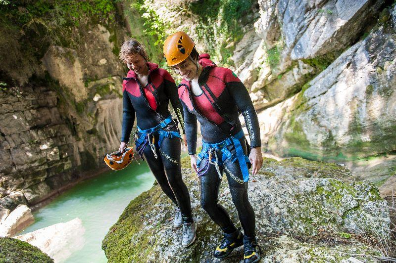 canyoning dans l'ain 6