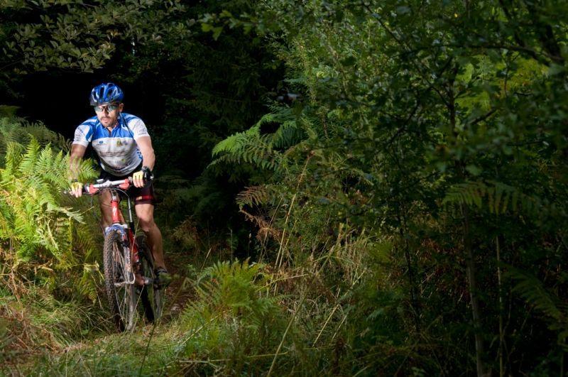 vélo montagne seul