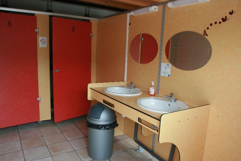 sanitaire du camping en savoie 2