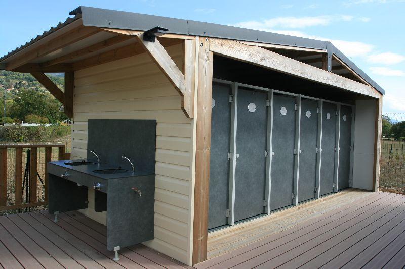 sanitaire du camping en savoie 4