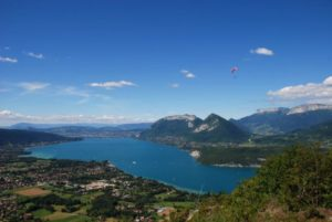 panorama lac Annecy