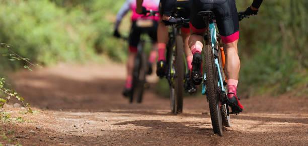 vélo montagne athlétes