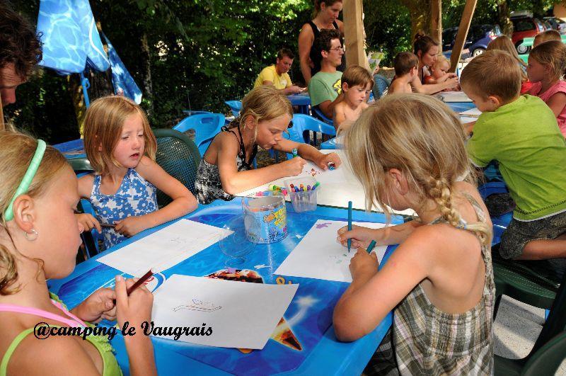 club enfants du camping