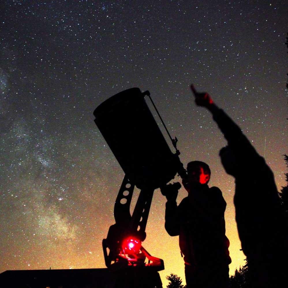 De nacht in de sterren savoie