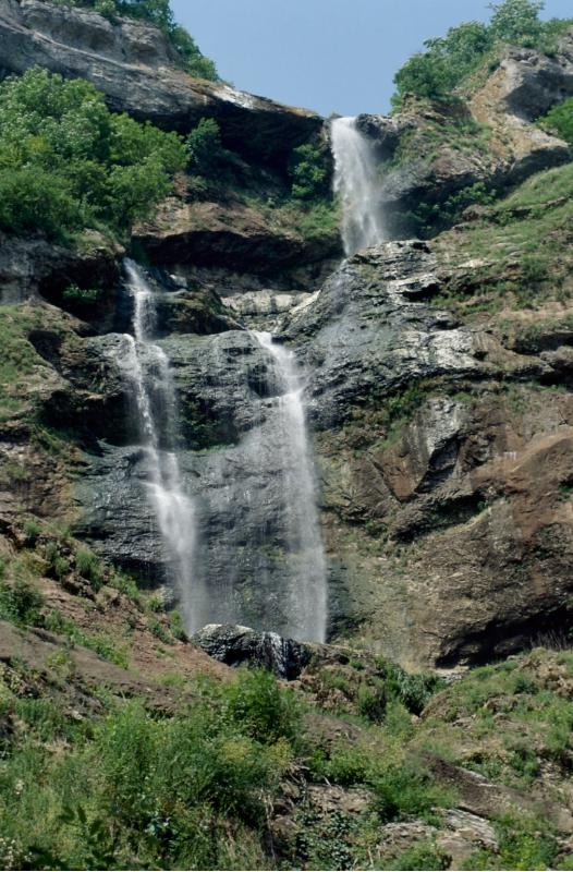 La cascade de la Charabotte