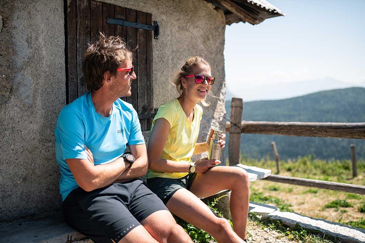 radonnées en couple en savoie col du grand colombier