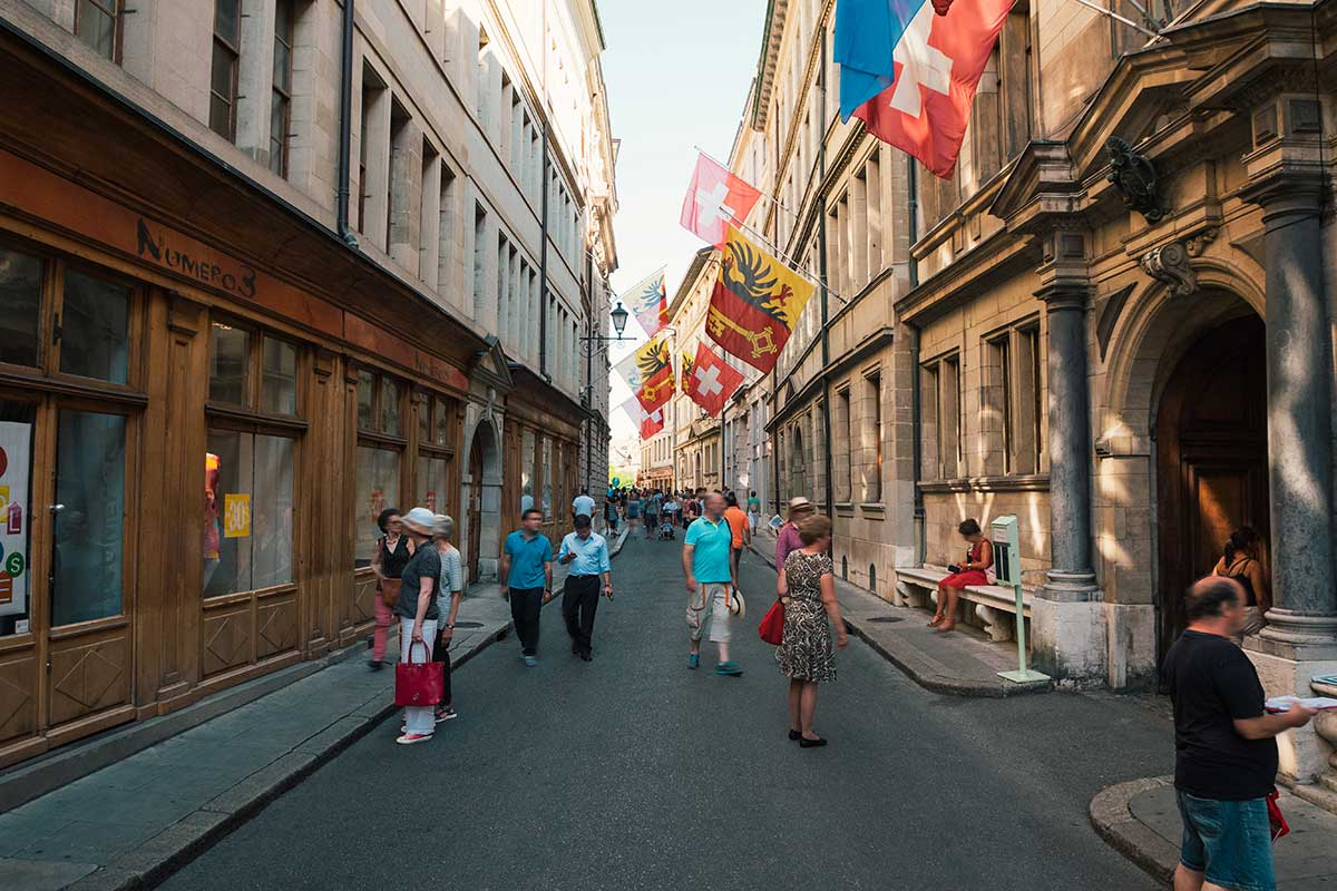 vieille ville Genève